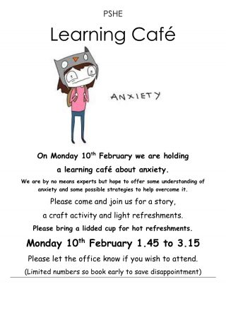PSHE-Learning-Cafe-Anxiety-10th-February
