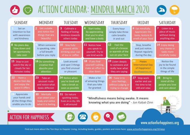 Mindfulness-March