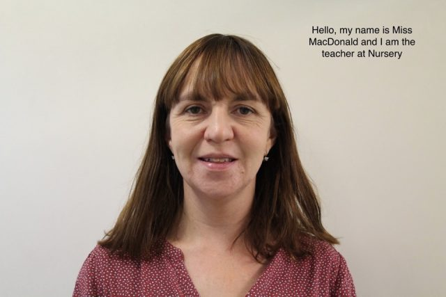 Miss MacDonald Nursery