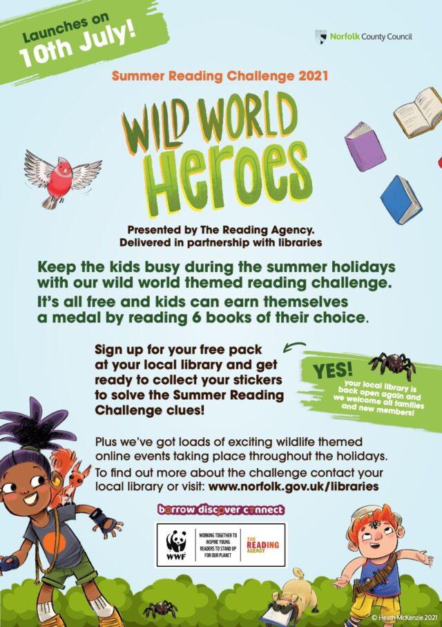 Libraries Summer Reading Challenge Parent Flyer